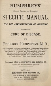 Cover of: Humphreys