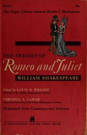 Cover of: The Tragedy of Romeo and Juliet | William Shakespeare