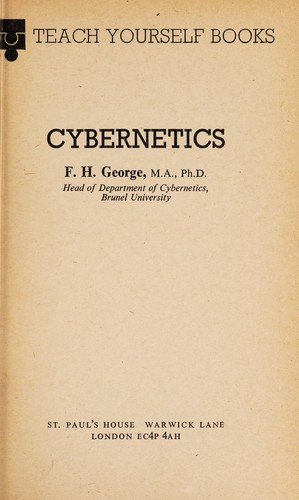 CYBERNETICS. by F. H. GEORGE