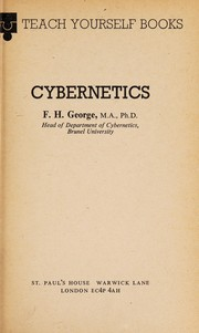 Cover of: CYBERNETICS. | F. H. GEORGE