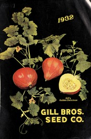 Cover of: Gill Bros. Seed Co., 1932