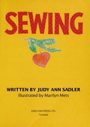 Cover of: Sewing | Judy Ann Sadler