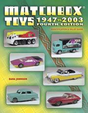 Cover of: Matchbox toys, 1947 to 2003