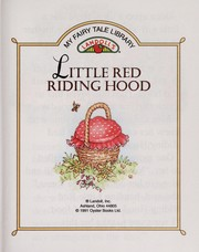 Cover of: Little Red Riding Hood | Fran Thatcher