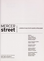 Cover of: Mercer Street, 2010-2011