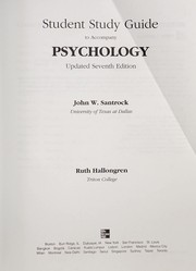 Cover of: Student Study Guide to accompany Psychology, 7e Update