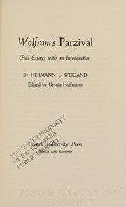 Cover of: Wolfram's Parzival