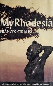 Cover of: My Rhodesia |