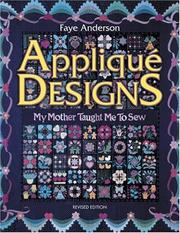Cover of: Applique Designs