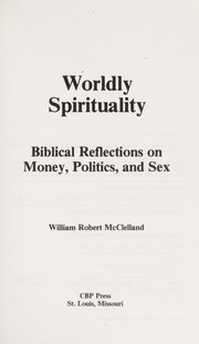 Cover of: Worldly spirituality