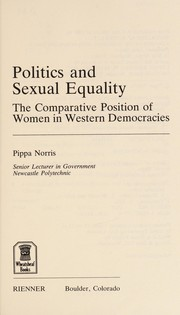 Cover of: Politics and sexual equality