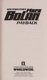 Cover of: Payback | Don Pendleton
