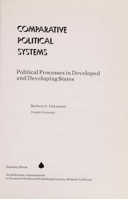 Cover of: Comparative political systems | Barbara N. McLennan