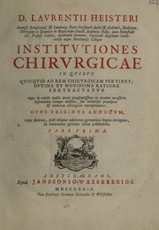 Cover of: Chirurgie