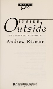 Cover of: Inside Outside
