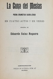 Cover of: La cuna del Mes©Ưas