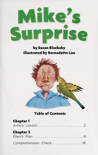 Mike's surprise by Susan Blackaby
