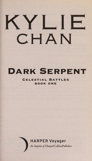 Cover of: Dark serpent | Kylie Chan