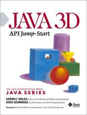 Cover of: Java 3D API Jump-Start | Aaron E. Walsh