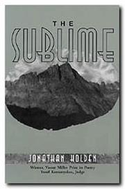 Cover of: The sublime