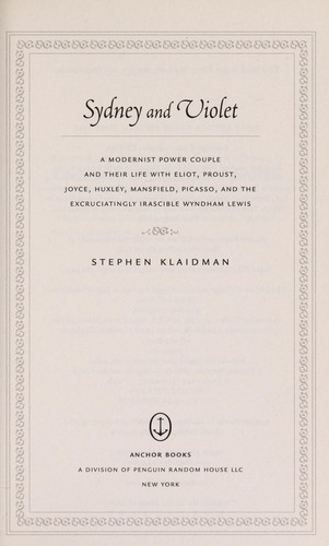 Sydney and Violet by Stephen Klaidman