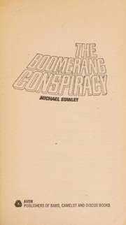 Cover of: The Boomerang Conspiracy