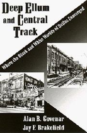 Cover of: Deep Ellum and Central Track