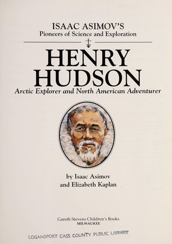 Henry Hudson by Isaac Asimov