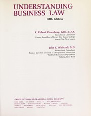 Cover of: Understanding business law