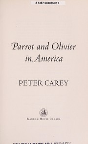 Cover of: Parrot and Olivier in America