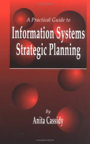 Cover of: A practical guide to information systems strategic planning