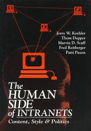 Cover of: The human side of intranets |