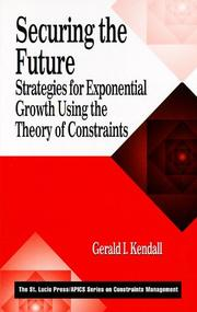 Cover of: Securing the Future | Gerald I. Kendall