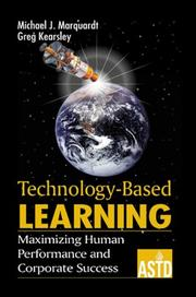 Cover of: Technology-based learning: maximizing human performance and corporate success