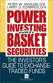 Cover of: Power Investing With Basket Securities | Peter W. Madlem
