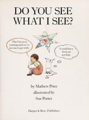 Cover of: Do you see what I see?