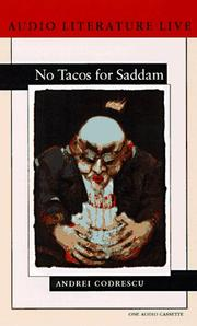 Cover of: No Tacos for Saddam