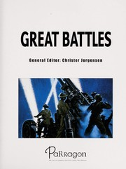 Cover of: Great battles | Christer Jo˜rgensen