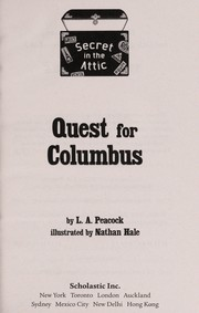 Cover of: Quest for Columbus | L. A. Peacock