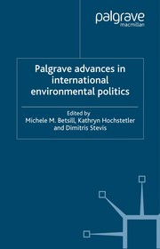 Cover of: Palgrave advances in international environmental politics