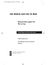 Cover of: The world says no to war