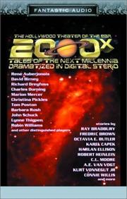 Cover of: 2000X: Tales of the Next Millennia