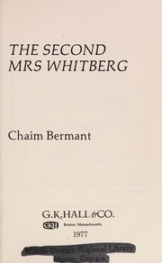 Cover of: The second Mrs Whitberg