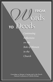 Cover of: From words to deeds