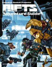 Cover of: Rifts Adventure Guide (Rifts)