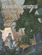 Cover of: Beyond the Supernatural Rpg (Beyond the Supernatural)