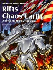 Cover of: Rifts Chaos Earth