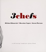 Cover of: 3chefs | Michael Bonacini