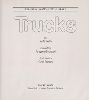 Cover of: Trucks | Kate Petty