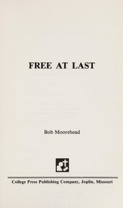 Cover of: Free at Last